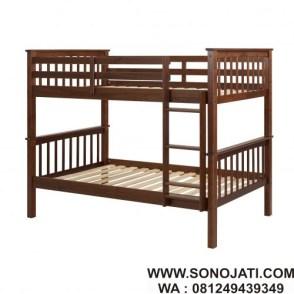 Tempat Tidur Susun Twin Solid