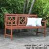 Bangku Taman Minimalis Wooden Garden Bench