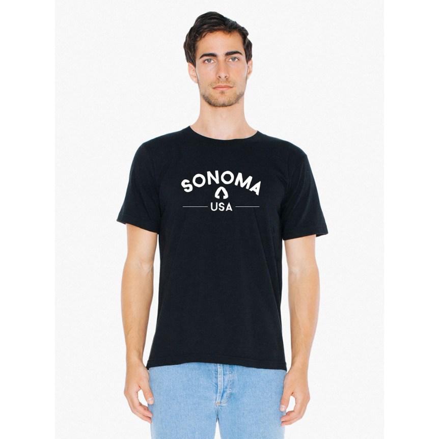 Sonoma USA Black T-Shirt