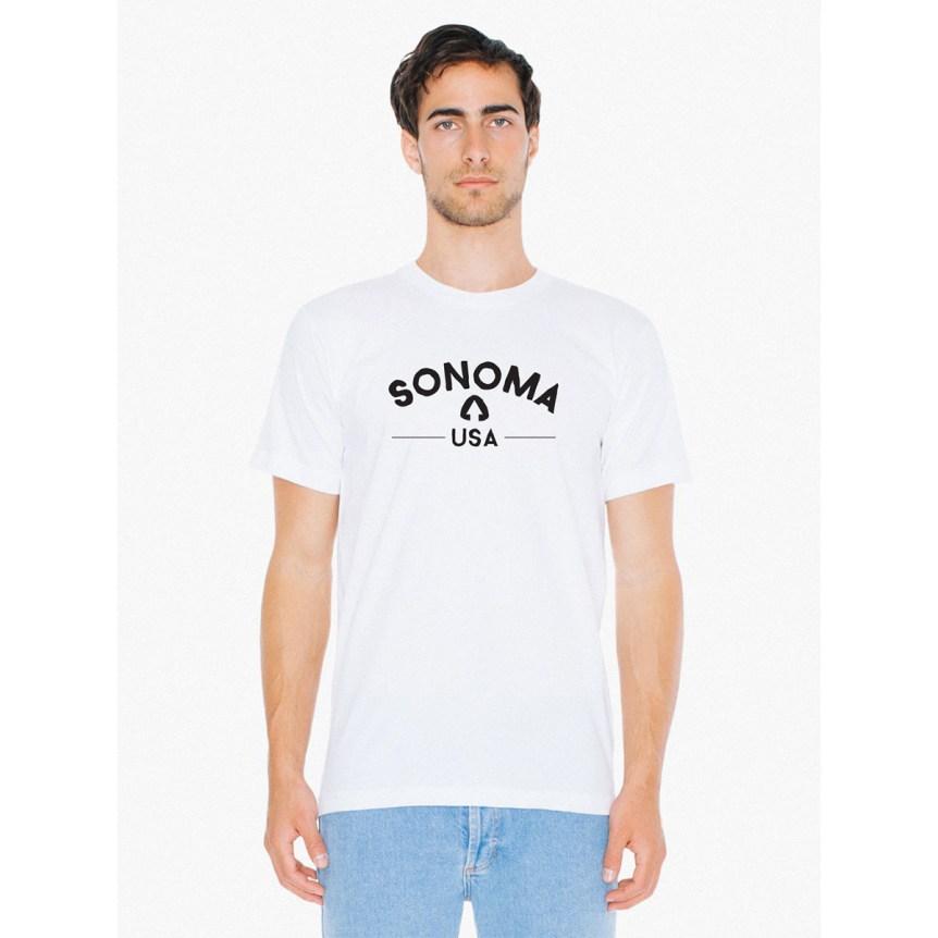 Sonoma USA White T-Shirt