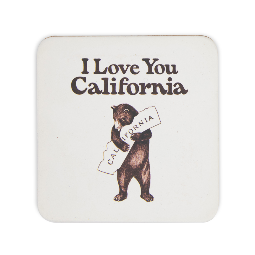 ILoveYouCalifornia-Leather-Coaster