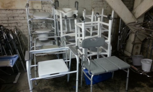 medical shower chairs dining white equipment recycling in sonoma county :: section on aging - soa