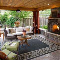 Outdoor Living Room Ideas Layout Rectangular 5 Gorgeous Rooms To Enhance Your Backyard