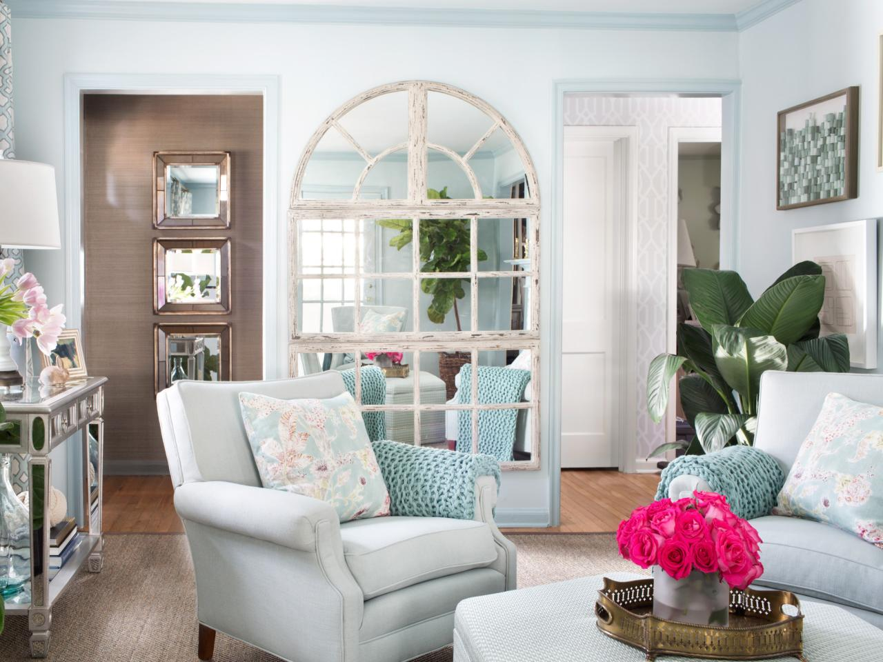 mirrors living room accent chairs for 7 ways can make any look bigger