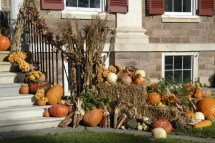 Decorate Yard Autumn Entertaining