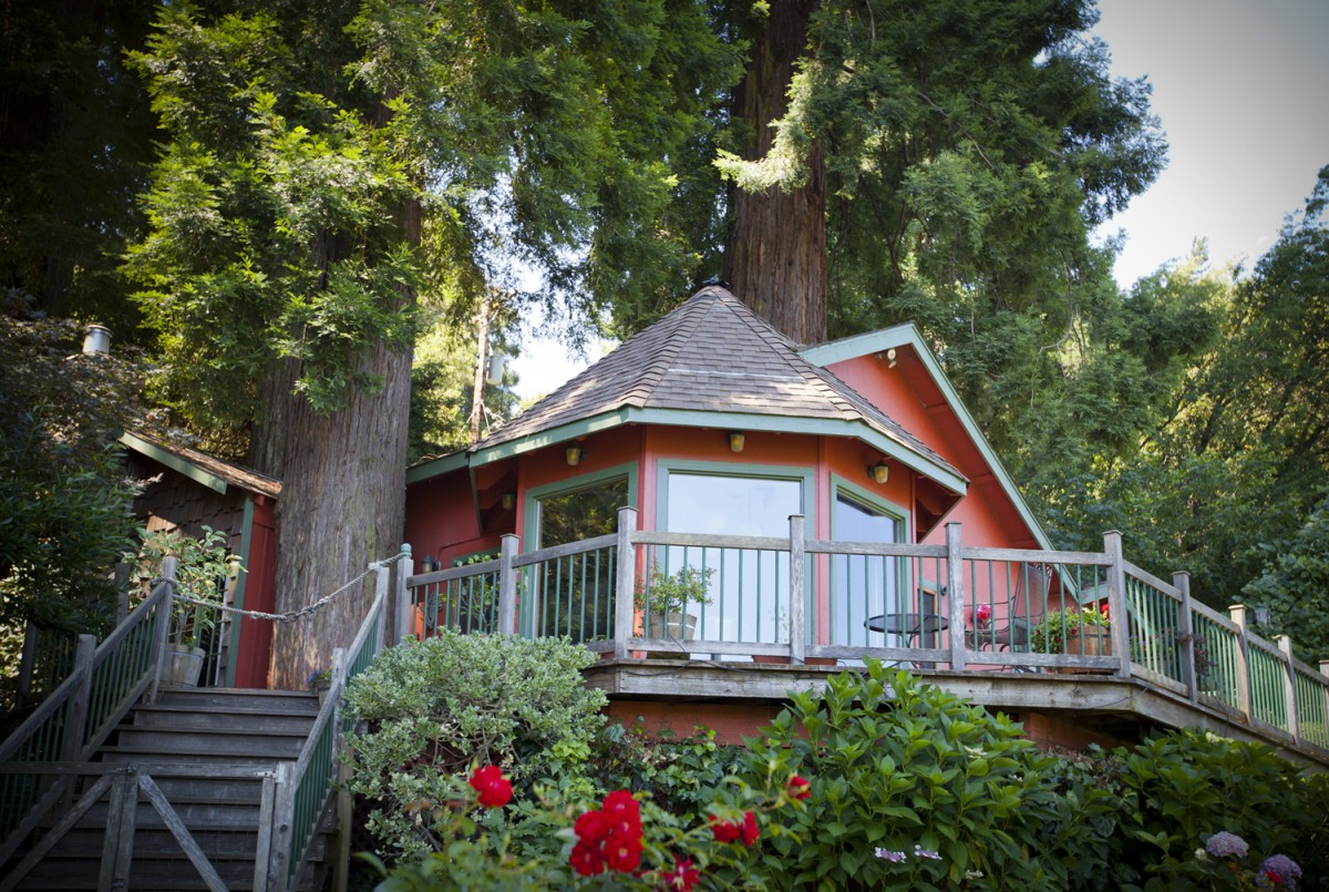 Stay in a Tree in Sonoma County 5 Treehouse Vacation Rentals