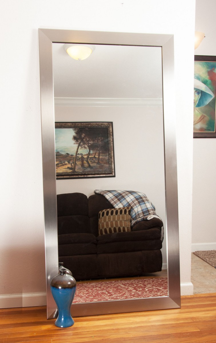 decorating with large mirrors living room contemporary benches for 7 ways can make any look bigger go big