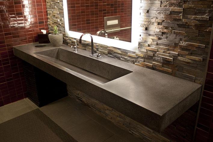 cement kitchen sink suites concrete bath sinks by sonoma cast stone