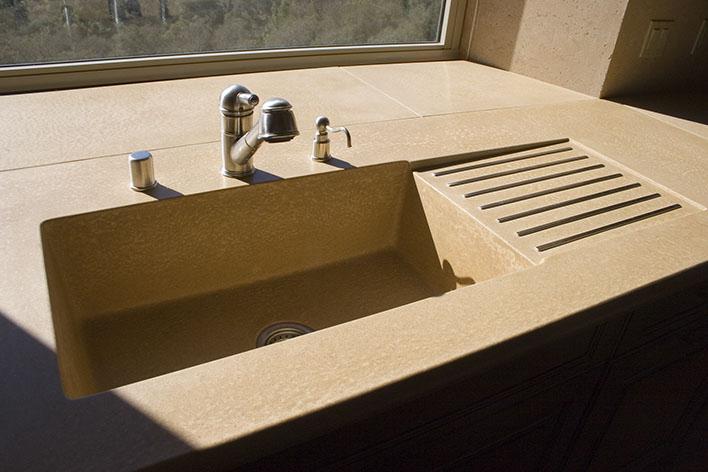 sonoma cast stone concrete sinks