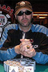 Conservatives expert advisor Leo C. Denofrio, from his seat at a Caesars Palace poker table