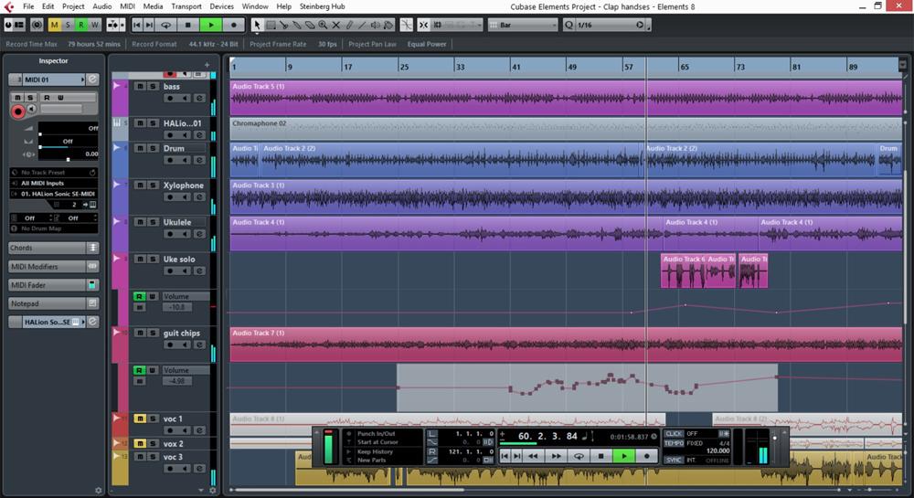 Sonora sonido - Grabación multipista en directo en formato digital en Cubase