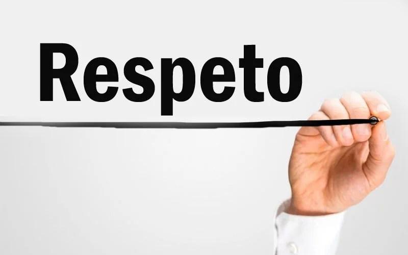 Principio de la Autonomía, Respeto