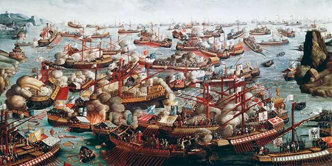 Una española en la Batalla de Lepanto
