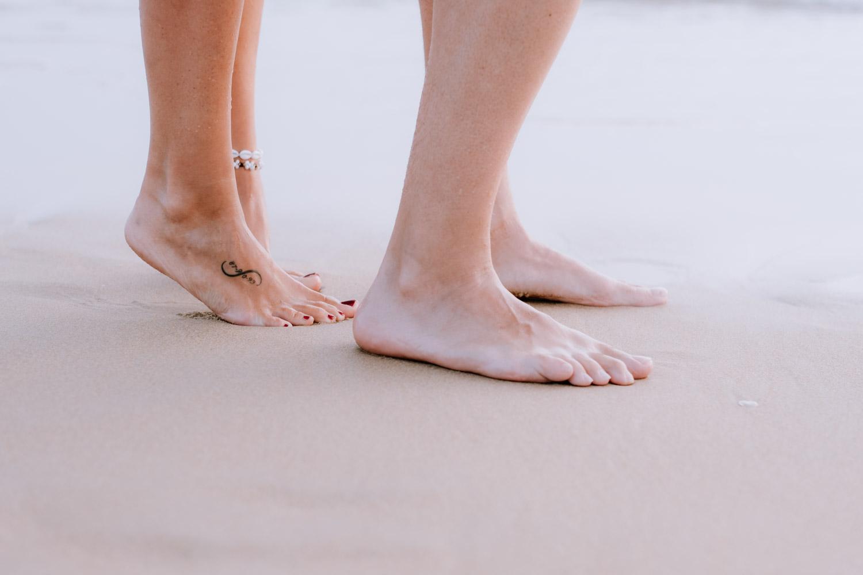 Sesión de fotos en la playa   Laura y Car