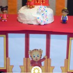 Daniel Tiger's Trolley Cake Stand (with title and description overlay)