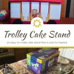 Daniel Tiger's Trolley Cake Stand