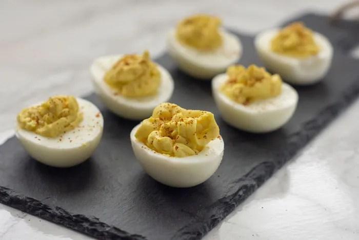 Super Easy Classic Deviled Eggs