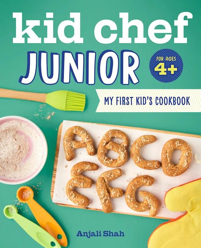 Kid Chef Junior cookbook cover