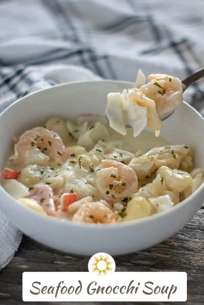 Seafood Gnocchi Soup