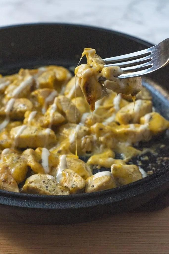 Cheesy Chicken & Ranch