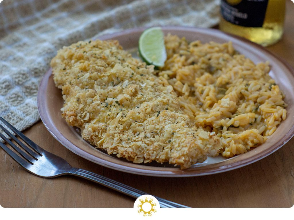 Tortilla-Crusted Chicken