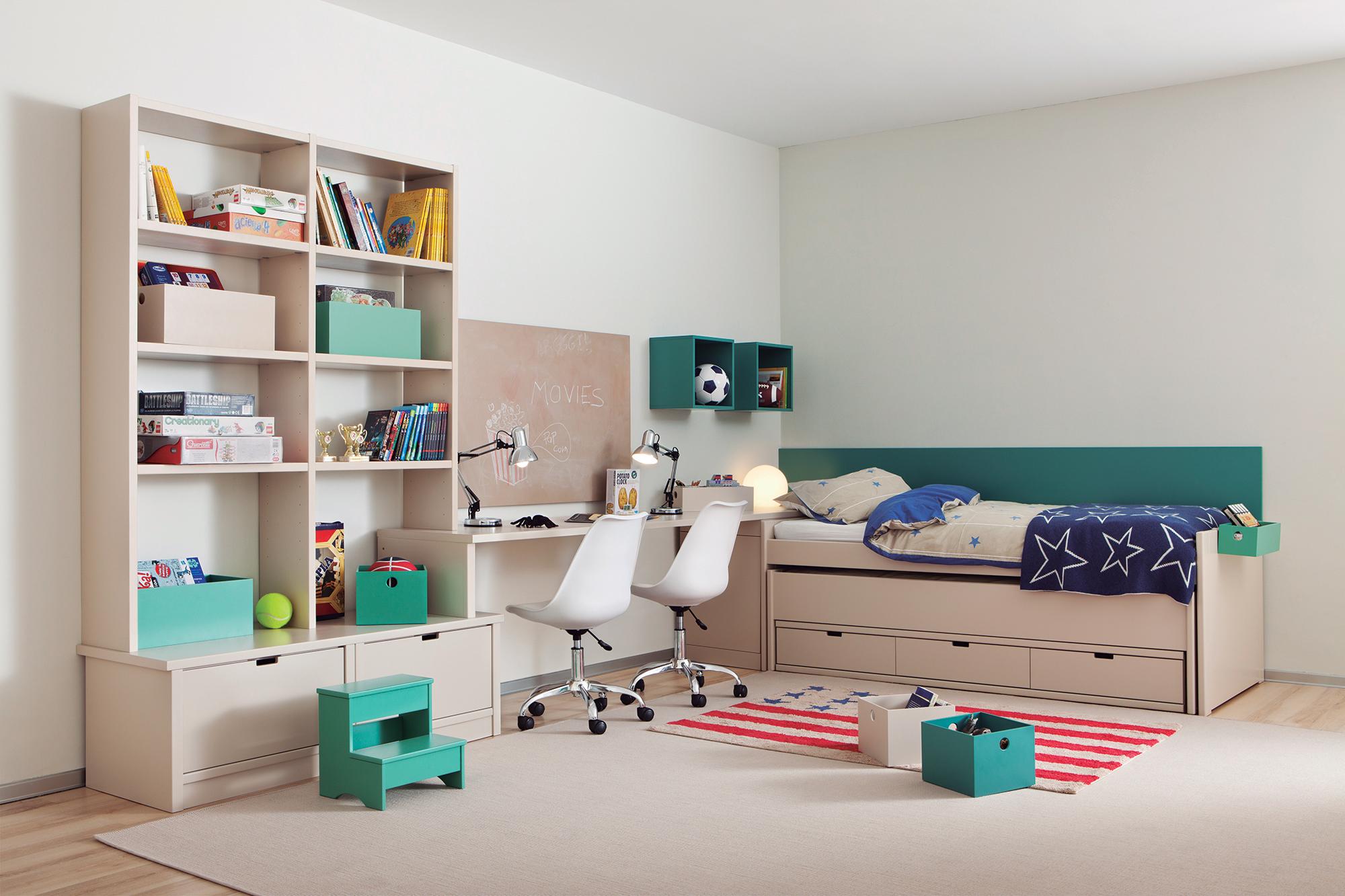rangement chambre enfant facile