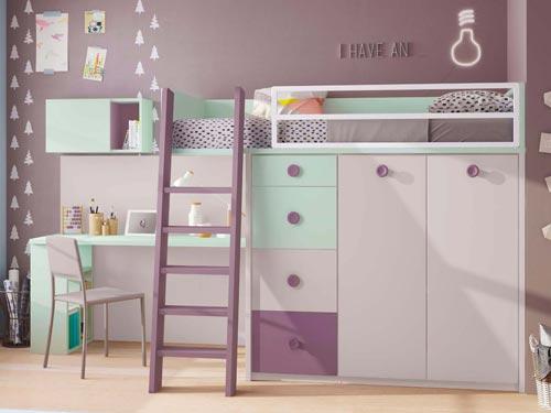 lit mezzanine enfant ideal pour la