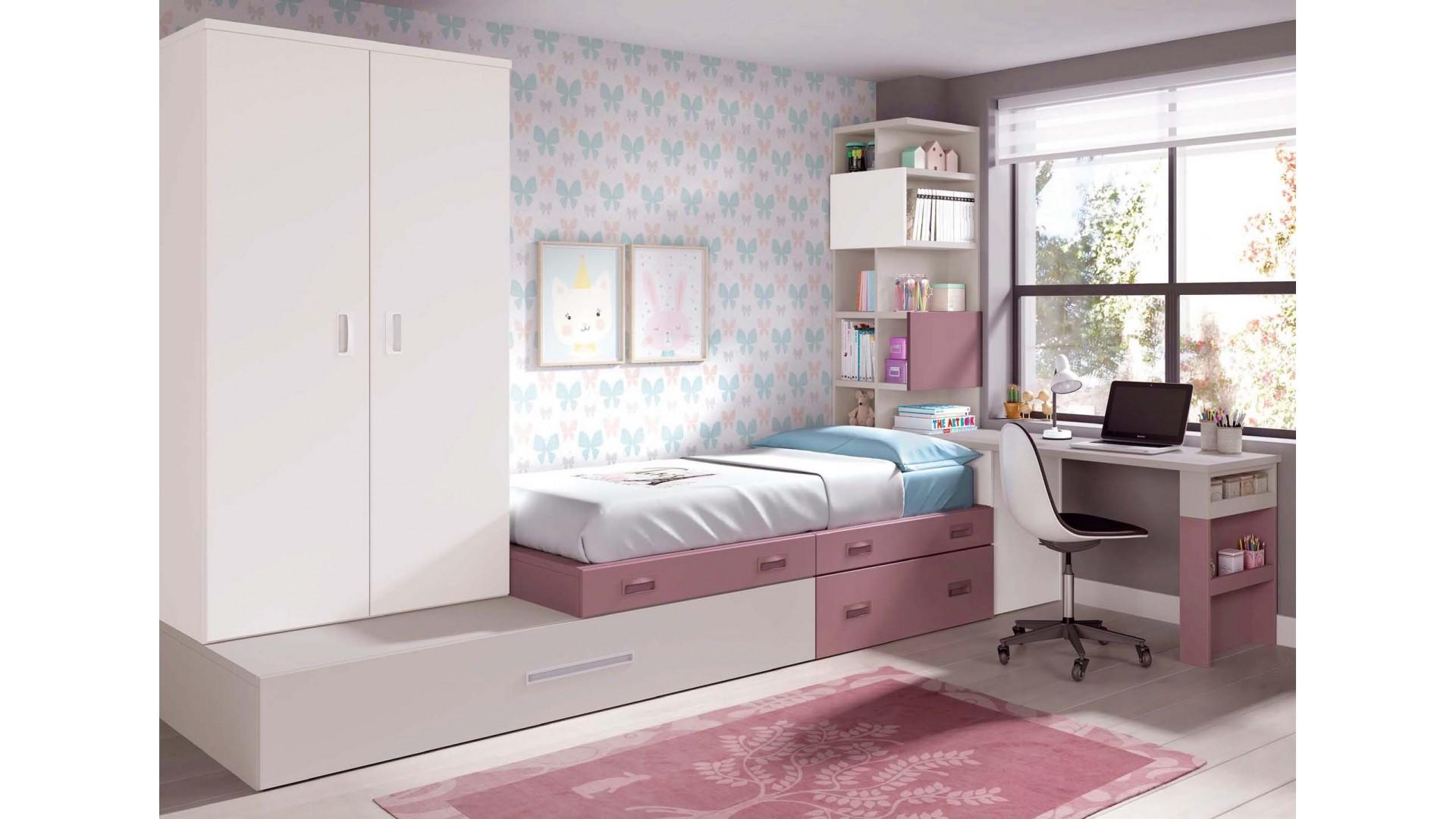 Chambre pour enfant et lit estrade  GLICERIO  SO NUIT