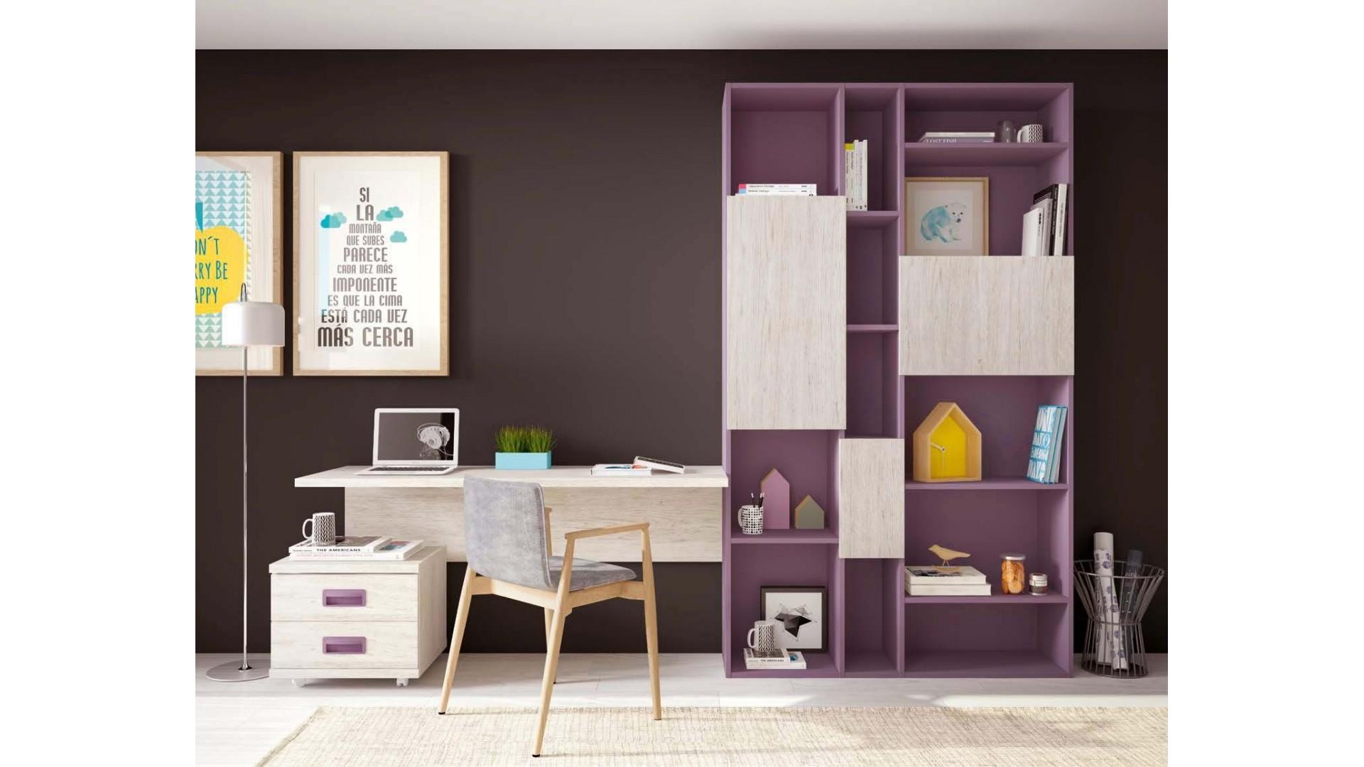 bibliotheque meuble et bureau personnalisables f410 glicerio