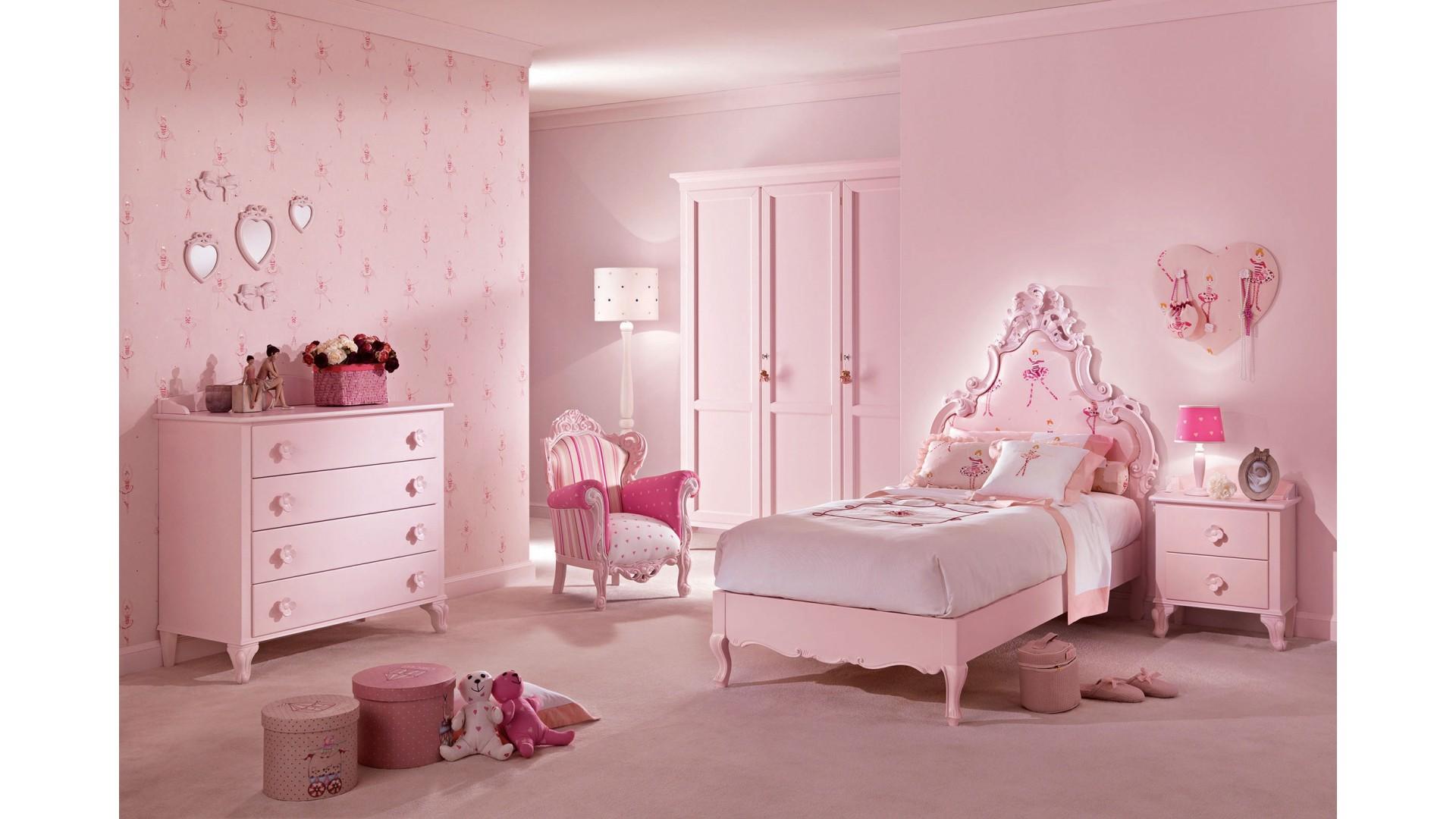 Lit princesse modle Ccile rose pastel  PIERMARIA  SO NUIT