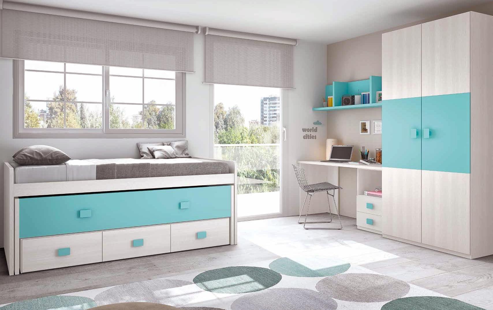 chambre enfant complete moderne  color  GLICERIO  SO NUIT