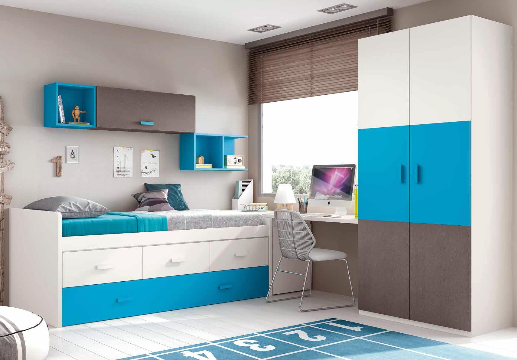 chambre garon moderne et fun avec lit surlev  GLICERIO  SO NUIT