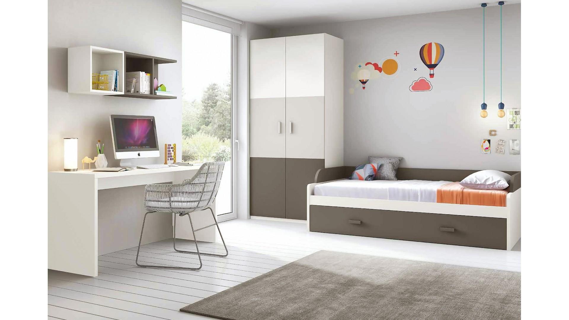 Chambre Enfant Complete Moderne Avec Lit Gigogne