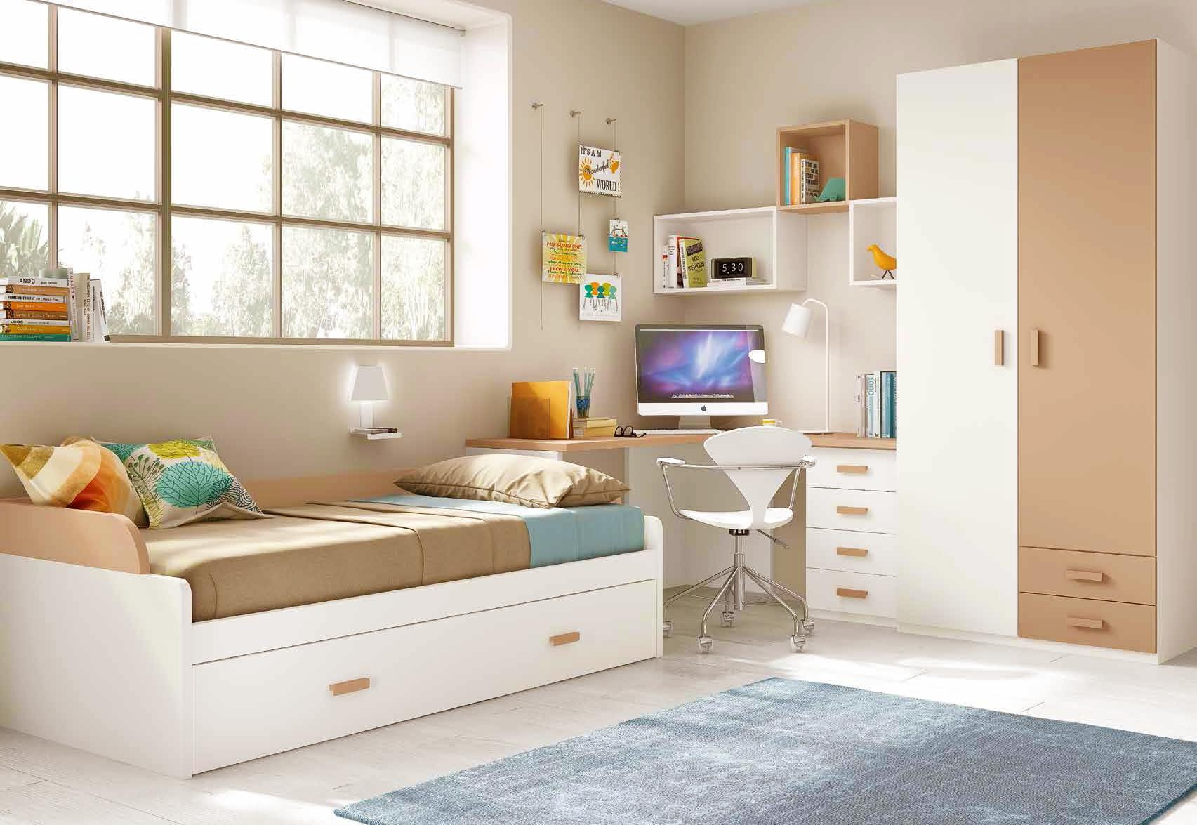Chambre pour enfant cosy avec son lit gigogne  GLICERIO  SO NUIT