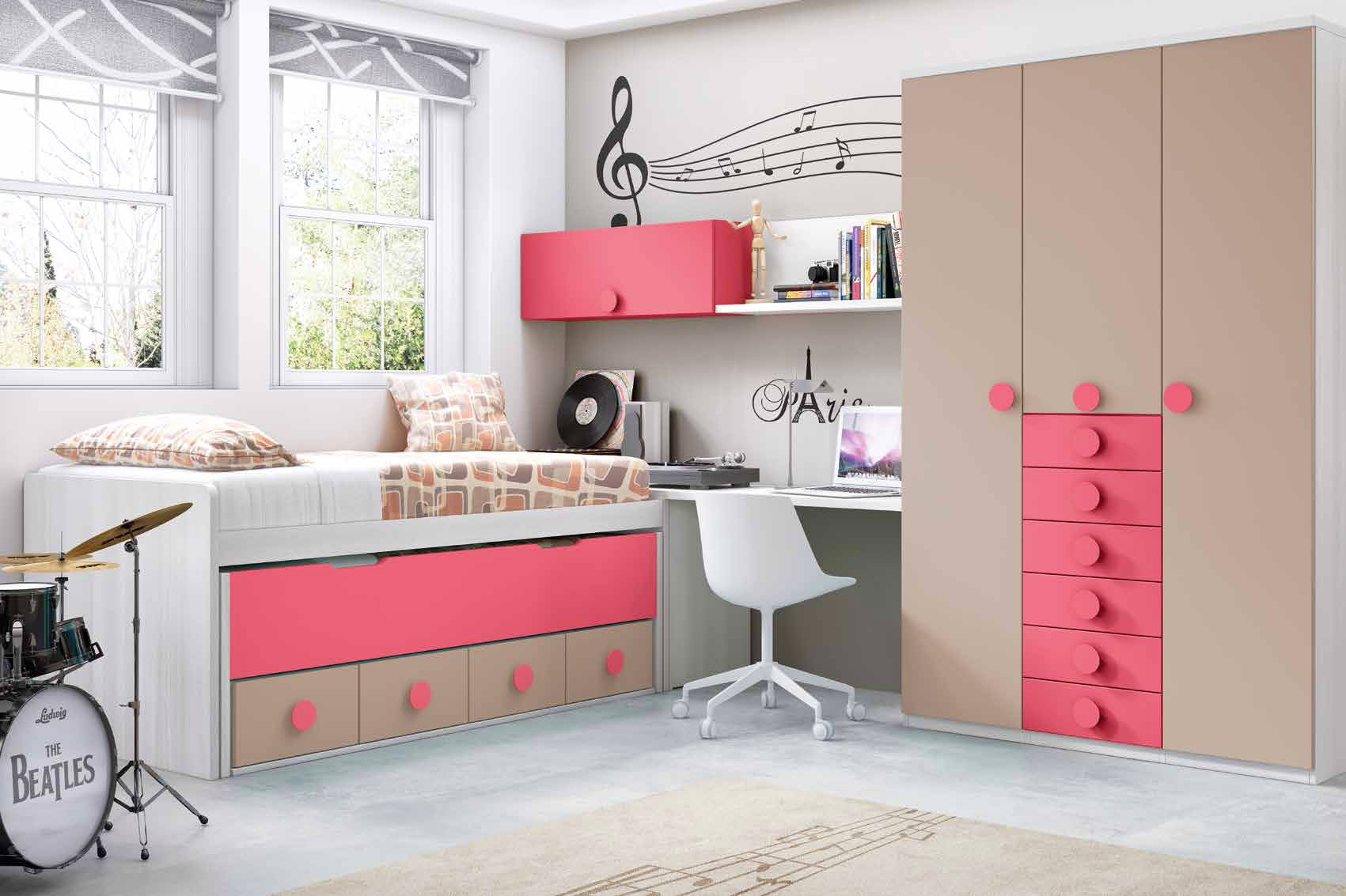 Chambre ado garcon ultra design  personnalisable  GLICERIO  SO NUIT