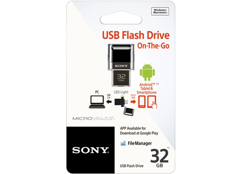 Archived USM32SA1 : USB On-The-Go : USB Drives : Sony