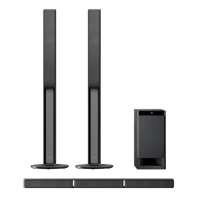 medium resolution of stylish 5 1ch tall boy home theater system