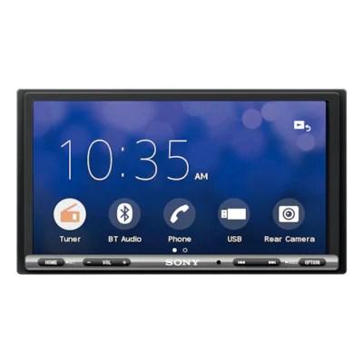 medium resolution of 17 6 cm 6 95 apple carplay android auto media receiver