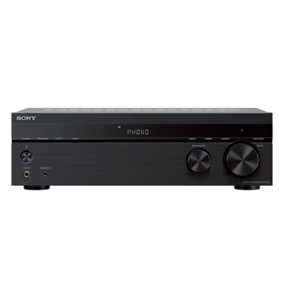 hight resolution of stereo receiver phono input and bluetooth connectivity str dh190