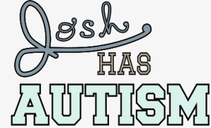 There is a logo shown with the words Josh Has Autism. It signifies the podcast Bug.