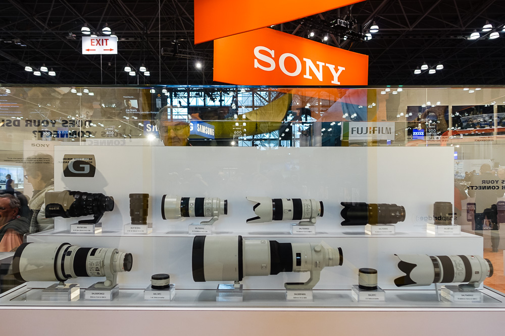 PhotoPlus Expo 2014 - Sony Booth