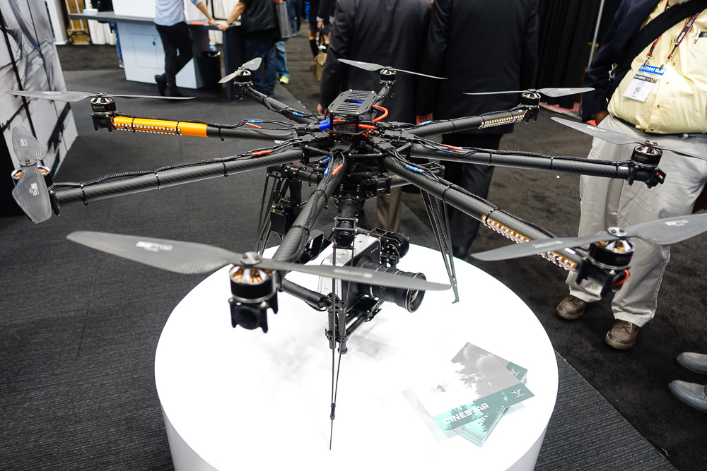 The Cinestar 8 copter