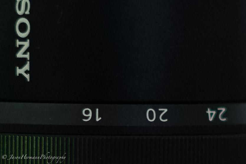 100% Crop - Sony a7II - Steadyshot Test - MC 50mm f/1.4 @ 1/15 second