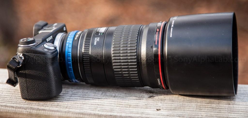 Sony Nex-6 2/ Canon EF 135mm f/2 Lens