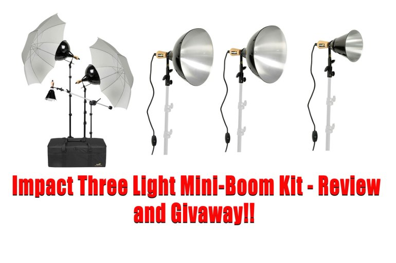 Impact Three-Light Mini-Boom Kit
