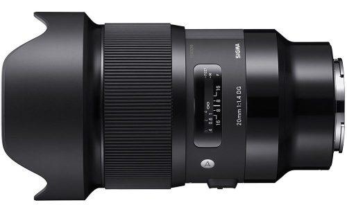Sigma 20mm f/1.4 DG HSM Art Lens
