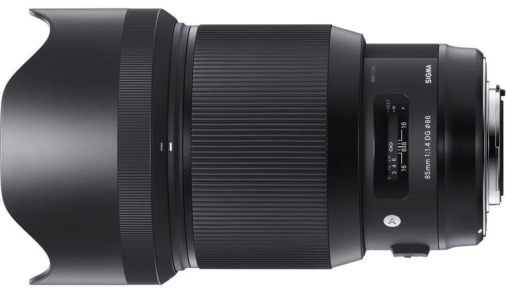 Sigma 85mm f/1.4 DG HSM Art Lens