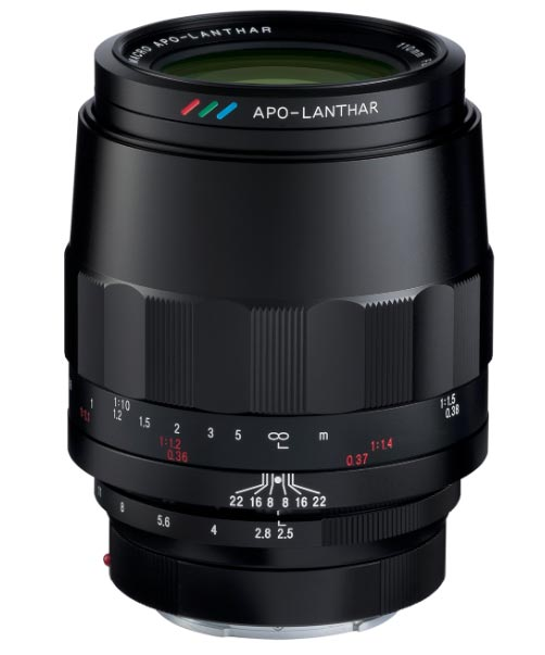Voigtlander MACRO APO-LANTHAR 110mm f/2.5 Lens