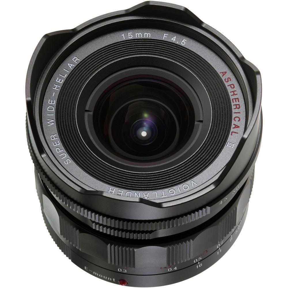 Voigtlander Super Wide-Heliar 15mm f/4.5 Aspherical III Lens