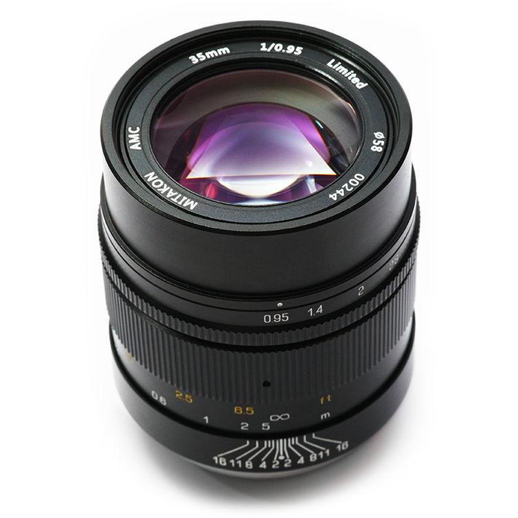 Mitakon Zhongyi 35mm f/0.95 Lens